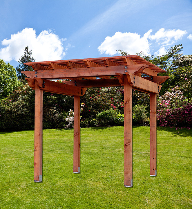 Visit our Where to Buy page to find a dealer near you for availability and  ordering the Humboldt Redwood Napa Pergola Kit. - Timbers Allweather Wood
